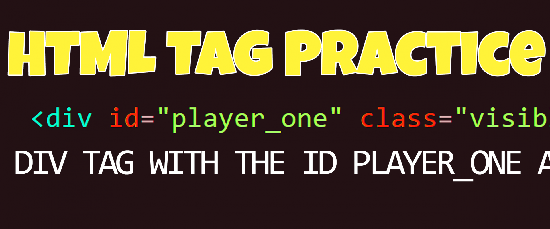 HTML Tag Practice